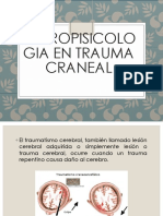Neuropsicologia en Trauma Craneal