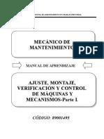 89001495 AJUSTE, MONTAJE, VERIFICACION Y CONTROL DE MAQUINAS - PARTE I (1).docx