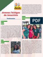 Anexo 3. Testimonios de La Revista Signo