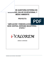 Informe de Auditoria de SSO 001 Sede Central DM.docx