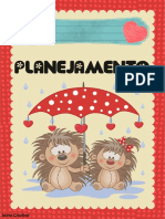 Planner Chuva de Amor Vermelho 1