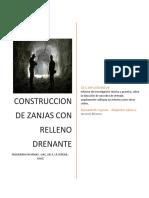 CONSTRUCCION DE ZANJAS CON RELLENO DRENANTE.docx