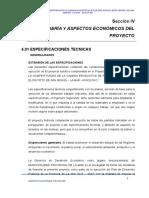 5.- Especificaciones Tecnicas Frutales 2017