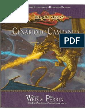 Dragonlance D20 - Cenário de Campanha - Biblioteca Élfica