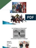 Emociones y Superheroes
