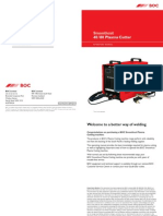 BOC Smoothcut 40 80 Plasma Cutter Manual