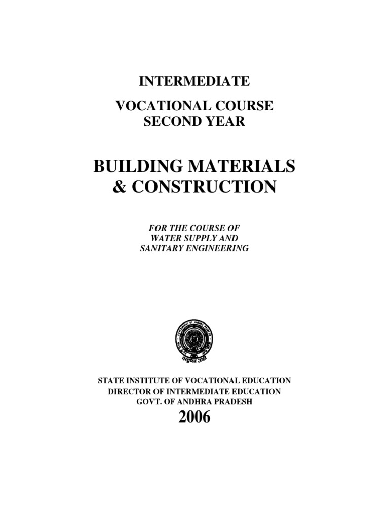 Building Material And Construction Pdf