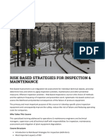 Risk Based Strategies for Inspection & Maintenance – Akademie-ibs.de