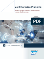 Increased Productivity and Reduced Planning Cycle Times With Collaborative Enterprise Planning