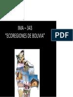 Ecoregiones de Bolivia