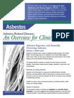 Asbestos OverviEW