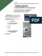 Informe Laboratorio Electronica Analoga2