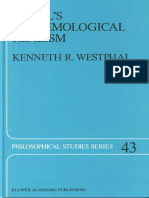 (Philosophical Studies Series) Kenneth R. Westphal-Hegel's Epistemological Realism_ A Study of the Aim and Method of Hegel's Phenomenology of Spirit (1989).pdf