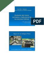 Del_Castillo Evolucion de Recurdos Hidricos