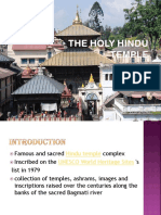 (201)the Holy Hindu Temple