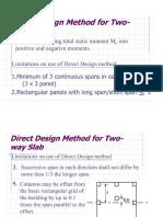 Two Way Slaba Directdesign
