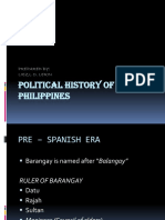 Political History of the Philippines