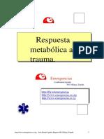 Respuesta Metabolica Al TraumaQuintoParcial