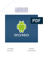 Android Report