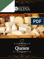 Catálogo de Quesos Isleña