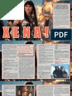 Adaptação Xena 3d&t Trpg Fa d&d5