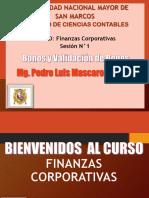 Sesion N°1 Bonos y Validacion de Bonos