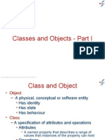 2 Classes and Objects - Part I