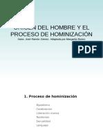 2. El Proceso de Hominizacicion