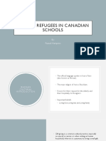 iranian refugees in canadian schools