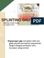 SPLINTING GIGI- DSC.pptx