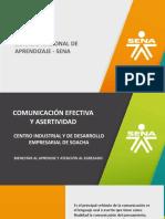 Presentacion Comunicación y Asertividad 2019