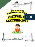 PLAN DE TRABAJO DE  FESTIVAL  LECTURA y PLAN DEL  CAE - 2018- ORIGINAL.docx