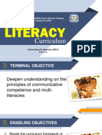 Ppt Literacy Curriculum