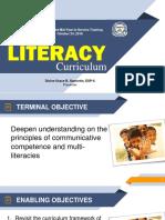 Ppt Literacy Curriculum