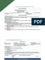 Planeacion Didactica_lectura, Expresion Oral y Escrita II
