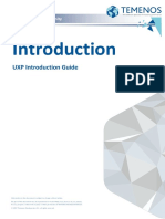 UXP6.2 FEAtures 5.1 Introduction