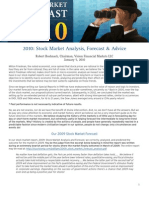 2010 Stock Market Forecast
