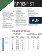 VARPREN ST Cable Datasheet
