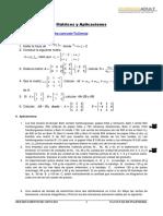 Matrices y Aplicaciones