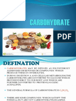 Carbohydrate Ppt