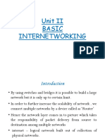 Basic Internetworking
