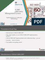 OHSAS 18001-2007 Implementation & Certification Methodologies_Lakshy_Rev 01_05122016