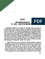 Xiv Babilonia y El Anticristo