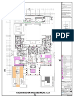 Ground Floor Wall Electrical Plan