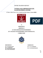 Internship Report JCT