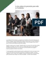 Alcaldes deben dar golpes de precisión para salir adelante- Laura Fernández