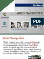 Riset Operasi Transportasi