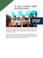 Gobierno de Laura Fernández diseña políticas a favor de los jóvenes