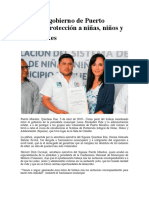 Refuerza gobierno de Puerto Morelos protección a niñas, niños y adolescentes