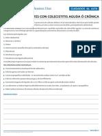 Colecistitis Aguda o Crónica